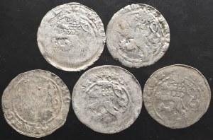 Czechy, Karol IV Luksemburski, Grosz praski (5 sztuk)