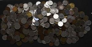 Królestwo Włoch, duży zbiór obiegowych monet do 1943 (2,32 kg)