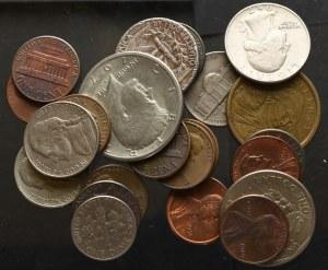 USA, zestaw monet