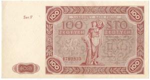 PRL, 100 złotych 1947 F