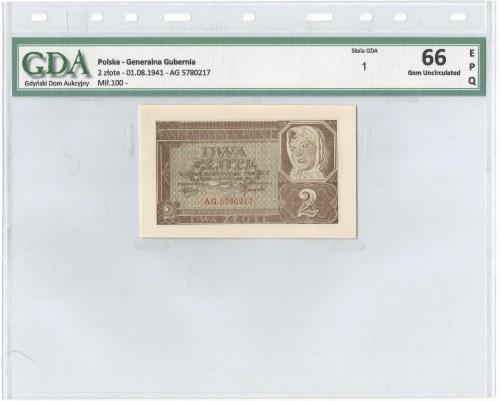 GG, 2 złote 1941 - GDA 66EPQ