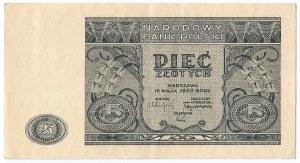 PRL, 5 złotych 1946