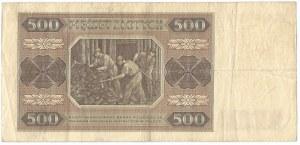 PRL, 500 złotych 1948 BL