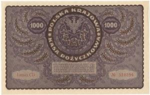 II RP, 1000 marek polskich 1919 I SERJA CD