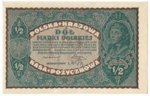 II RP, 1/2 marki polskiej 1920