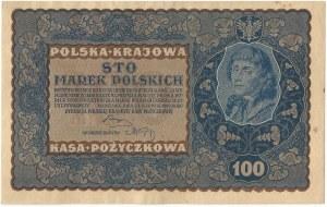 II RP, 100 marek polskich 1919 IE SERJA U