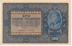 II RP, 100 marek polskich 1919 IH SERJA Z