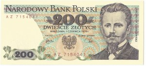 PRL, 200 złotych 1979 AZ