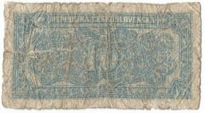 Czechosłowacja, 10 koron 1950 - niebieska kolorystyka