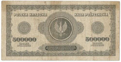 II RP, 500 000 marek polskich 1922 T
