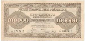 II RP, 100 000 marek polskich 1923 A