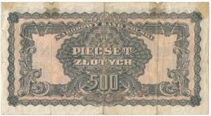 PRL, 500 złotych 1944 - owym TA