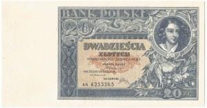 II RP, 20 złotych 1931 AN