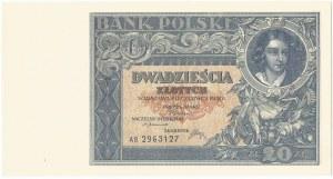II RP, 20 złotych 1931 AB