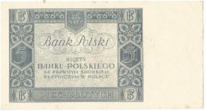 II RP, 5 złotych 1930 Ser. BF.