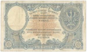 100 złotych 28 lutego 1919 S.C.