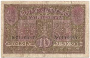 II RP, 10 marek polskich 1916, Generał