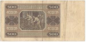 PRL, 500 złotych 1948 AD