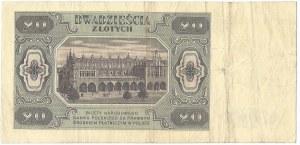 PRL, 20 złotych 1948 DE