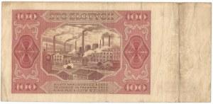 PRL, 100 złotych 1948 BL
