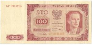 PRL, 100 złotych 1948 GP - bez ramki