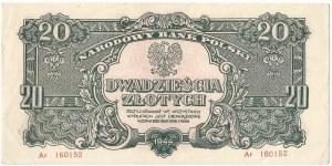 PRL, 20 złotych 1944 Ar - owe