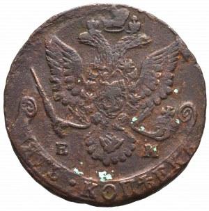 Rosja, Katarzyna II, 5 kopiejek 1781