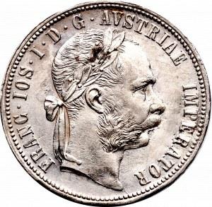 Austria, Franciszek Józef, 1 floren 1878