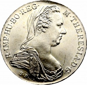 Austria, Maria Teresa, Talar 1780 nowe bicie