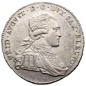 Niemcy, Saksonia, Fryderyk August, 1/3 talara 1793