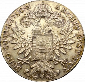 Austro-Węgry, Maria Teresa, Talar 1780 nowe bicie