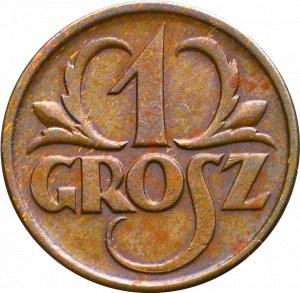 II Rzeczpospolita, 1 grosz 1927