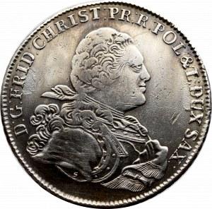 Saksonia, Fryderyk Chrystian, Talar 1763