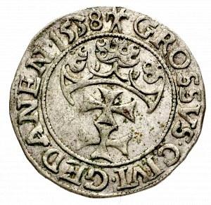 Zygmunt I Stary, Grosz 1538, Gdańsk - PRVSS
