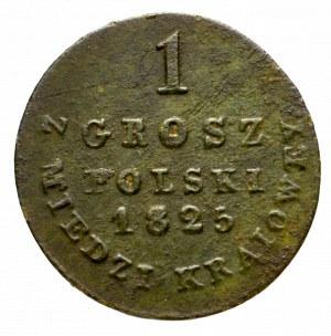 Królestwo Polskie, 1 grosz 1825 I.B.