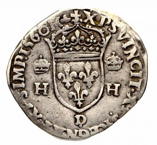 Francja, Henryk II, Teston 1560