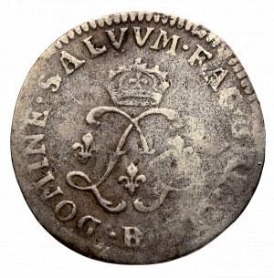 Francja, Ludwik XIV, 4 sol 2 deniers 1691