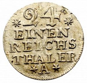 Niemcy, Prusy, 1/24 talara 1756 A