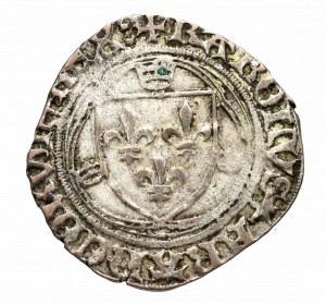 Francja, Karol VI, Blanc du Dauphine