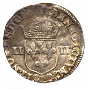Francja, Henryk IV, 1/4 ecu 1598