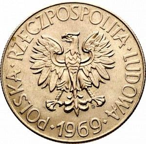 PRL, 10 złotych 1969 Kościuszko