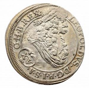 Śląsk, Leopold I, 15 Krajcarów 1694 Wrocław