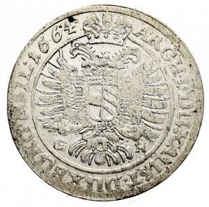 Śląsk, Leopold I, 15 Krajcarów 1664 Wrocław