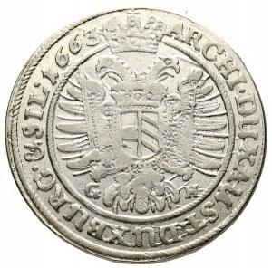 Śląsk, Leopold I, 15 Krajcarów 1663 Wrocław
