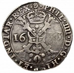 Niderlandy hiszpańskie, Brabancja, Filip IV, Patagon 1633