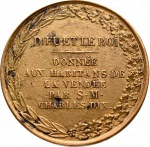 Francja, Medal Charles X