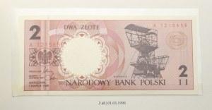 Zestaw banknotów obiegowych Miasta Polskie 1.03.1990