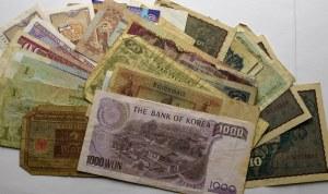 Zestaw banknotów