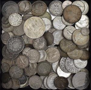 Zestaw inwestycyjny, monety świata - 1,5 kg srebra