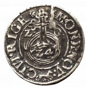 Zygmunt III Waza, Półtorak 1620, Ryga - lis dzieli legendę